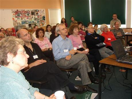 Limmud A 'wrapt' audience